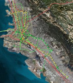 Future East Bay BRT Network