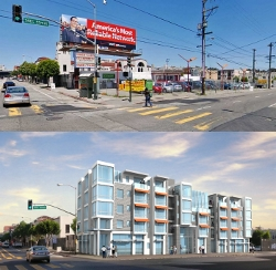 299 Valencia, before and after.