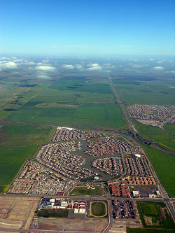 Sprawl in the Sacramento Valley