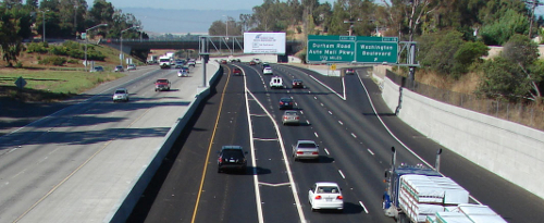 Interstate 680.  Courtesy of Caltrans.