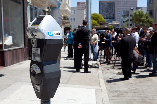 SFpark meter in Hayes Valley, San Francisco