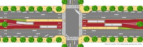 Van Ness BRT: center-running LPA.